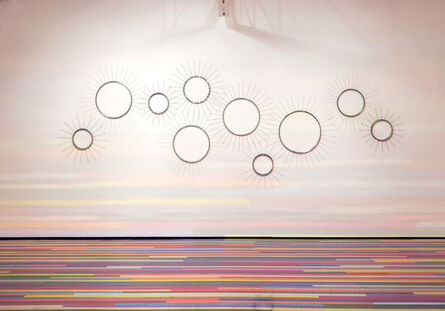 Jim Lambie, 'Here Comes The Sun', 2015