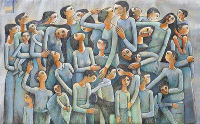 Nabil Anani, 'Demonstration #2', 2016