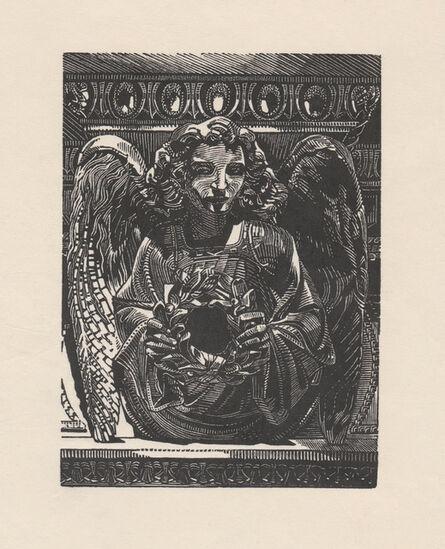 Anne Desmet, 'Angel with Laurel Wreath', 2020