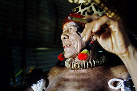 Attila Lorant, 'Old Chief Takuma', 2005