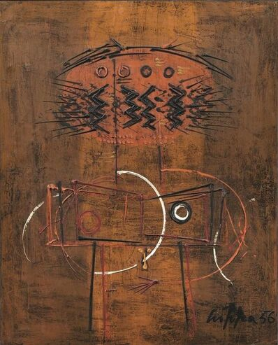 Roberto Crippa, 'Totem', 1955
