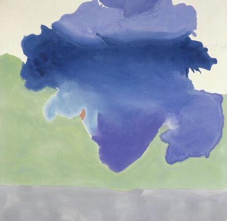 Helen Frankenthaler, 'The Bay', 1963