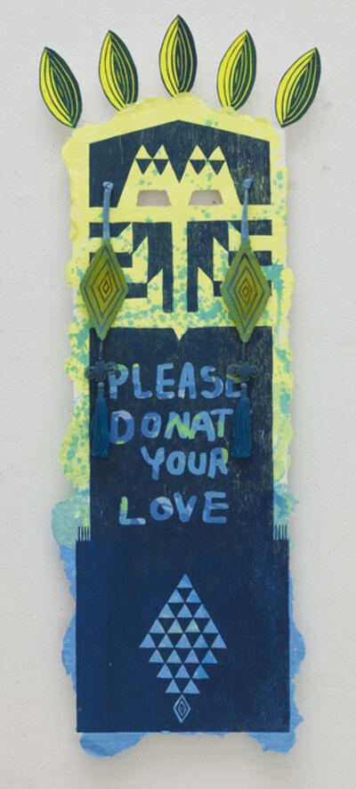Eko Nugroho, 'Please Donate Your Love', 2013