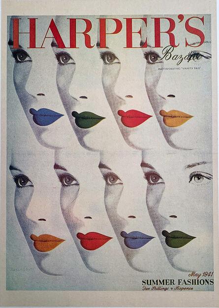 Herbert Bayer, 'Harper's Bazaar, Summer Fashions', 1941