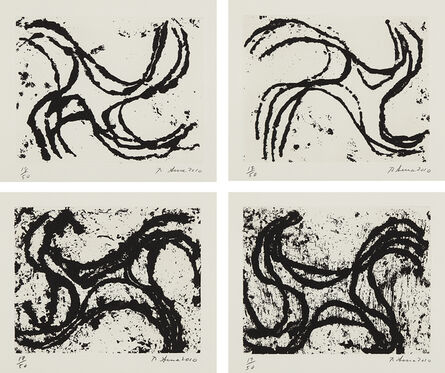 Richard Serra, 'Junction #2; Junction #3; Junction #10; and Junction #13', 2010
