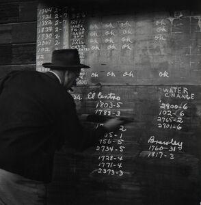 Richard Steinheimer, 'SD&AE Railroad Dutch Brantz roundhouse foreman, Calexico', 1953