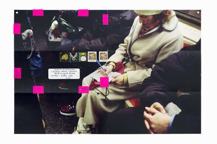 Moyra Davey, 'Subway Writers', 2011
