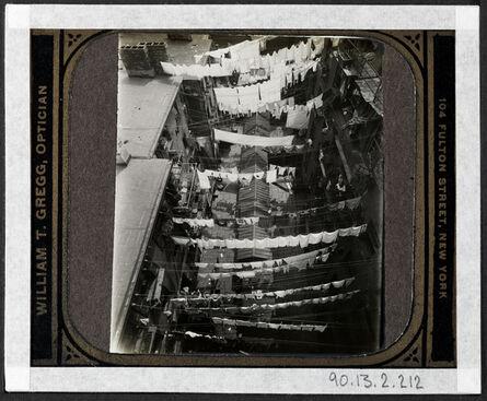 Jacob A. Riis, '[Thompson Street, bird's eye view.]', ca. 1895