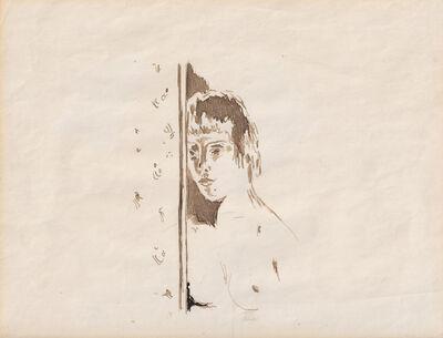 Pierre Bonnard, 'Portrait de femme a l'embrasure d'une porte'', ca. c. 1947