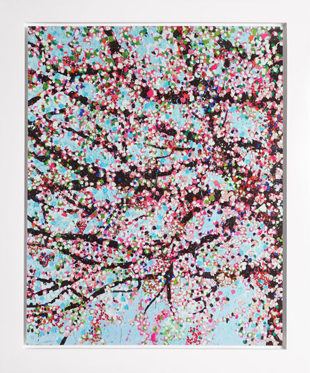 Damien Hirst, 'The Virtues 'Loyalty', Limited Edition 'Cherry Blossom' Landscape', 2021