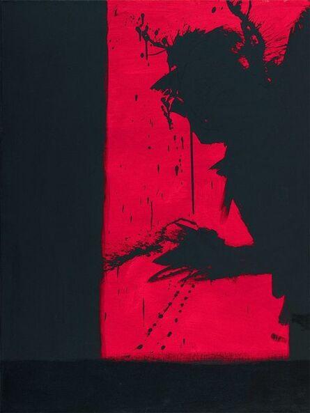 Richard Hambleton, 'Shadow Head Berlin', 1982
