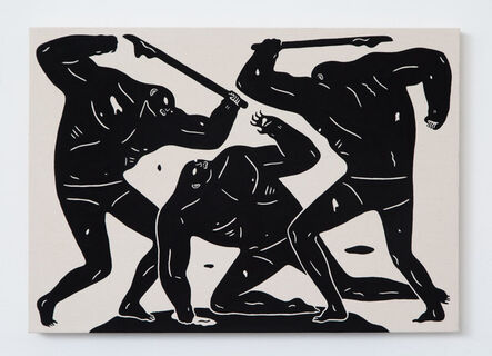 Cleon Peterson, 'Blood Runs Cold', 2015