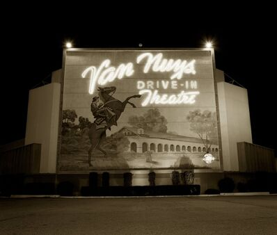 Steve Fitch, 'Drive-in theater, Highway I-5, Van Nuys, California', 1973