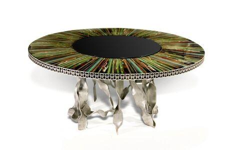 XYZ Design, 'Cloisonné Dining Table', 2006