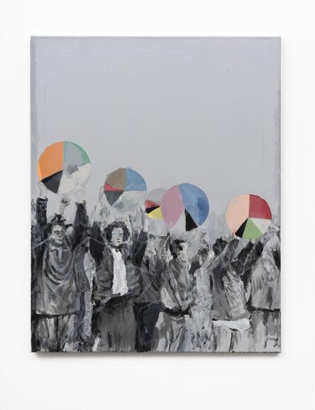 Martin Feldbauer, 'Studie zu Gefangenendilemma / Study for prisoner's dilemma', 2018
