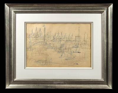 Jean Dufy, 'Le Bassin de Toulon'