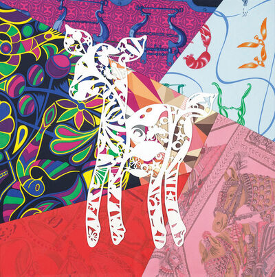 Jam WU, 'PAPER-CUT – Jam Deer', 2015