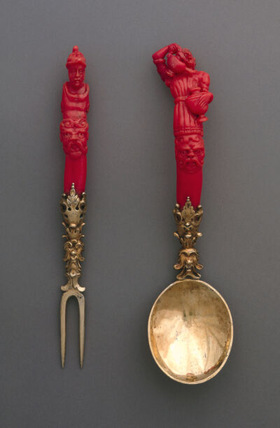 'Fork and spoon', ca. 1600-1630