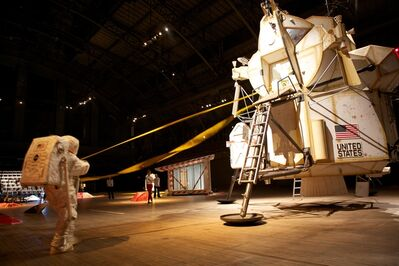 "Tom Sachs, 'Installation view of ""Space Program: Mars""', 2012"