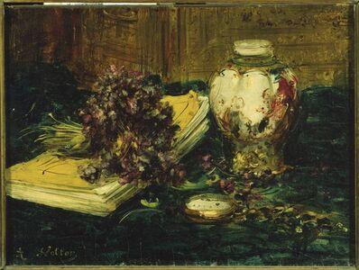 Antoine Vollon, 'Violets'