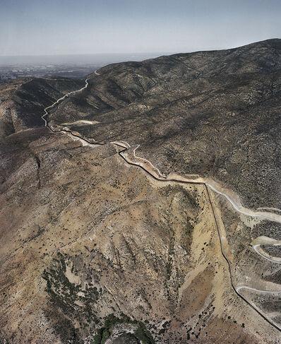 Pablo López Luz, 'Tijuana /Mexicali - San Diego County III, Frontera México - USA', 2014