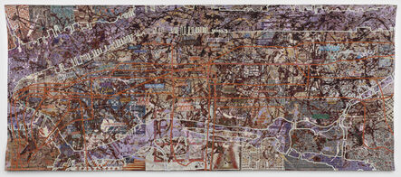 Grayson Perry, 'Very Large Very Expensive Abstract Painting', 2020