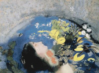 Odilon Redon, 'Ophélie (Ophelia)', 1900-05