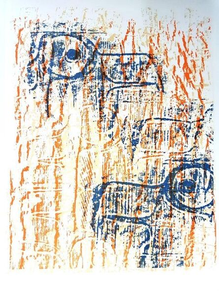 """Max Ernst, 'Original Lithograph """"Birds"""" by Max Ernst', 1964"""