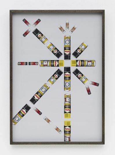Haegue Yang, 'Hardware Store Collage – Bauhaus Spray Cans # 1', 2013