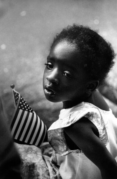 Earlie Hudnall, Jr., 'Girl with Flag', 1991