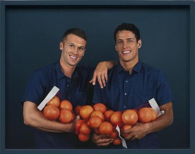 Elad Lassry, 'Two Men, Grapefruits', 2012