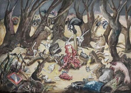Mónica Heller, 'Operación en el bosque', 2018