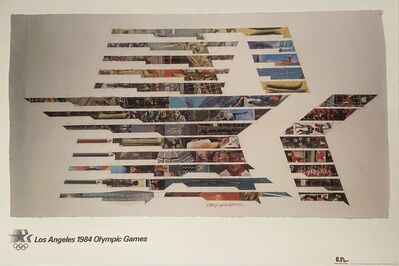 Robert Rauschenberg, 'Los Angeles 1984 Olympic Games Signed Poster by Robert Rauschenburg', 1982