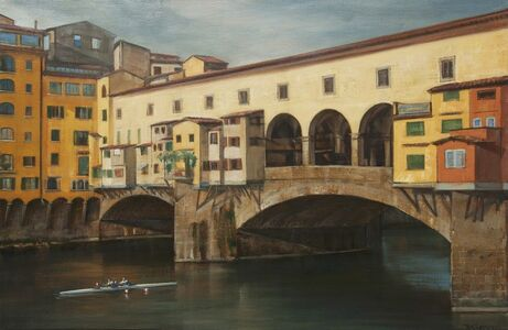Bradley Stevens, 'Through Ponte Vecchio'