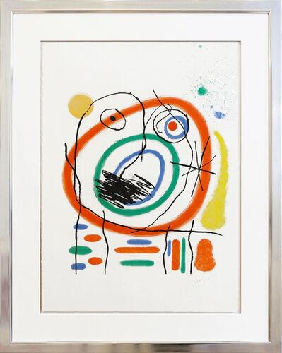 Joan Miró, 'Le Prophète encerclé', 1965