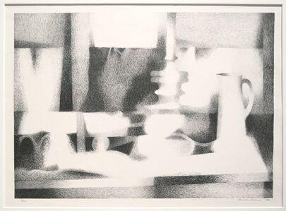 Clinton Adams, 'August Still Life', 1956
