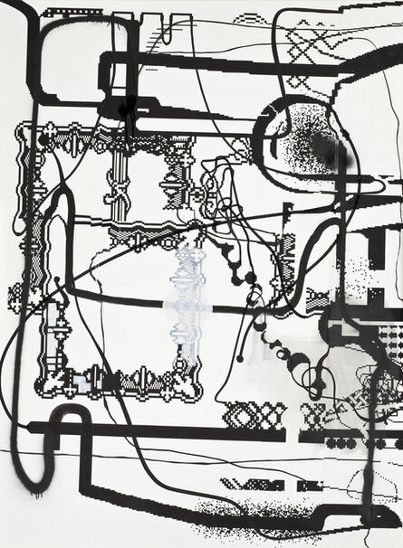 Albert Oehlen, 'Computer Painting ', 1998