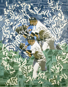 Michael Anderson, 'Derek Jeter 4 Luck 2009 World Series', 2009