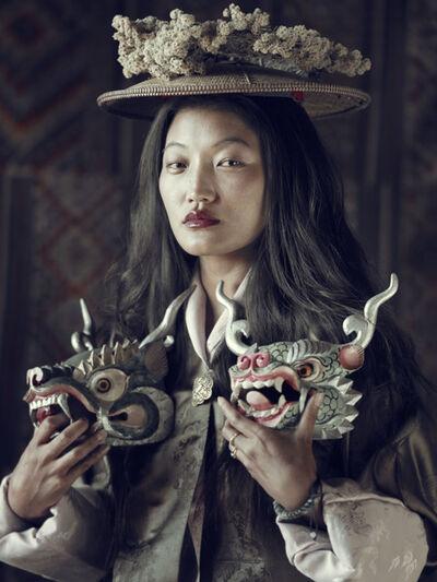 Jimmy Nelson, 'XXIX 2, Sonam, Gantey, Bhutan', 2016