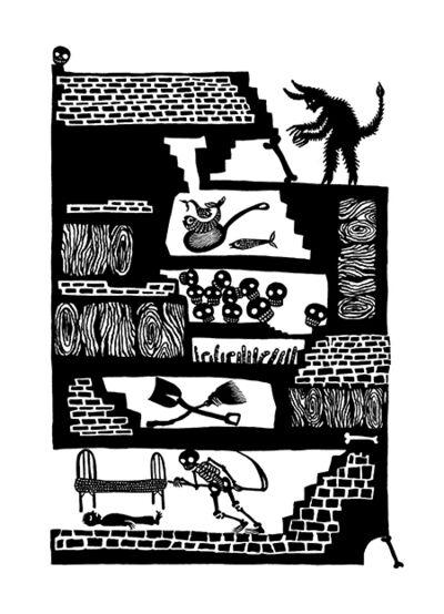 Andrea Dezsö, 'Grimm Illustrations: The Godfather, 2014'