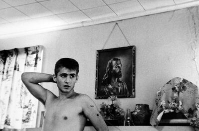 """Larry Clark, 'Untitled (David in Front of Mantle, from the series """"Tulsa"""")', 1963"""