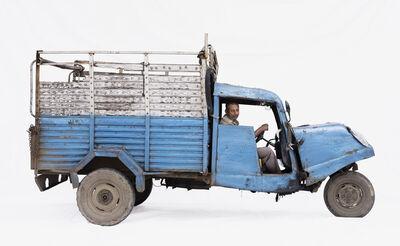 Martin Roemers, 'Bajaj Tempo #2; Courier Mohammad Zahir (Ujjain, Madhya Pradesh)', 2019