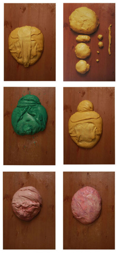 Mika Rottenberg, 'Color Study / Doughface (Group of 6)', 2010