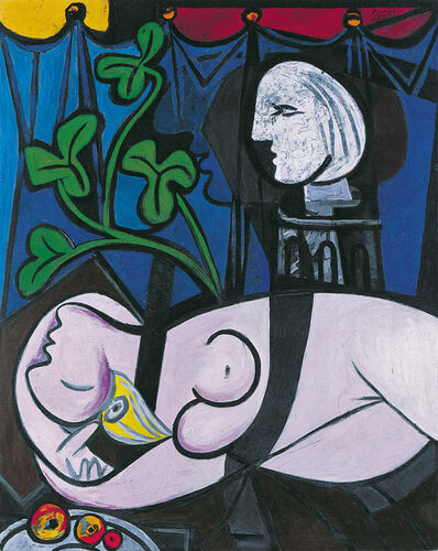 Pablo Picasso, 'Nude, Green Leaves and Bust', 1932