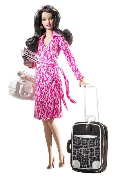 Mattel, 'Diane Von Furstenberg Barbie', 2006