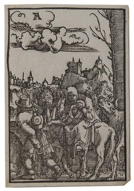 Albrecht Altdorfer, 'The Flight into Egypt.', 1515