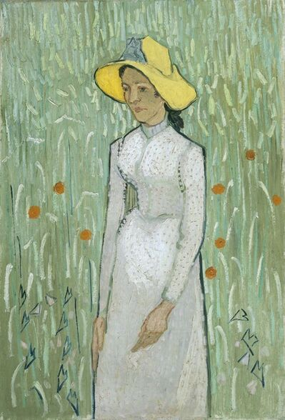 Vincent van Gogh, 'Girl in White', 1890