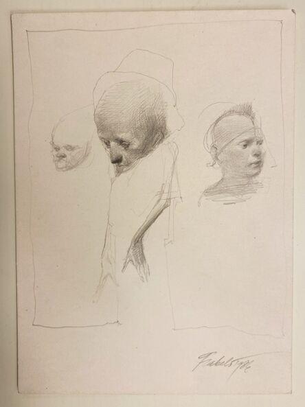 Roberto Fabelo, 'Untitled Drawing', 1983