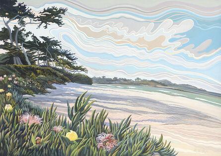 Phyllis Shafer, 'Carmel Beach'