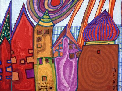Friedensreich Hundertwasser, 'Waiting Houses', 1969